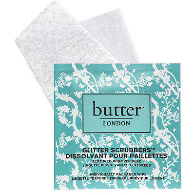 Butter London Glitter Scrubbers Textured Remover Wipes