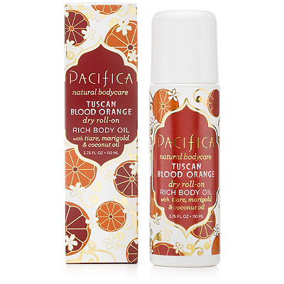PacificaTuscan Blood Orange Dry Roll-On Rich Body Oil