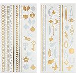 Capelli New YorkTattoo Gold Combo-Bracelets