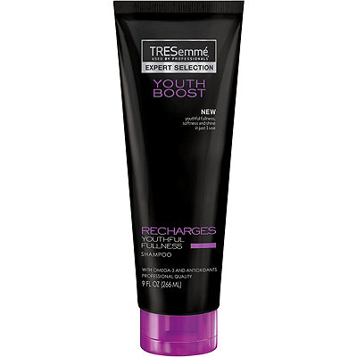TresemmeOnline Only Youth Boost Recharges Fullness Shampoo