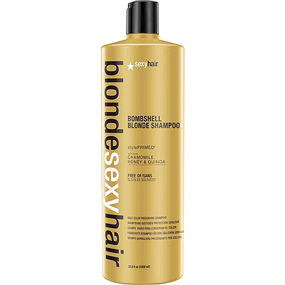 Sexy HairBlonde Sexy Hair Bombshell Blonde Shampoo Daily Color Preserving Shampoo