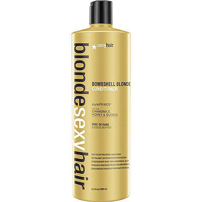 Sexy HairBlonde Sexy Hair Sulfate-Free Bombshell Blonde Conditioner