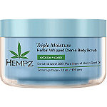HempzOnline Only Triple Moisture Herbal Whipped Crème Body Scrub