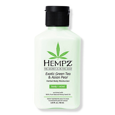 Hempz Online Only Travel Size Exotic Green Tea %26 Asian Pear Herbal Body Moisturizer