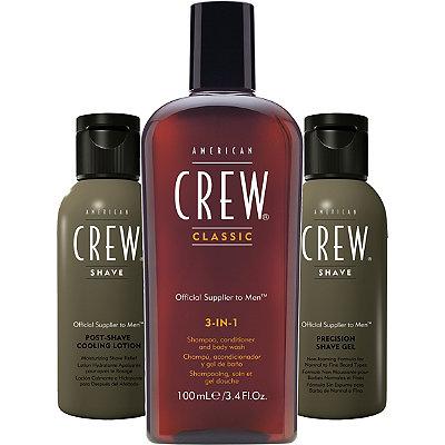 American CrewTravel Grooming Kit