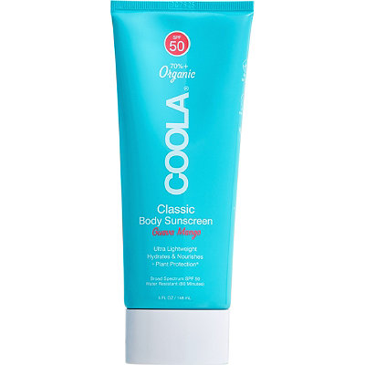 CoolaSport SPF 50 Fresh Mango Moisturizer Sunscreen