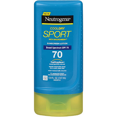 Neutrogena CoolDry Sport Sunscreen Lotion SPF 70