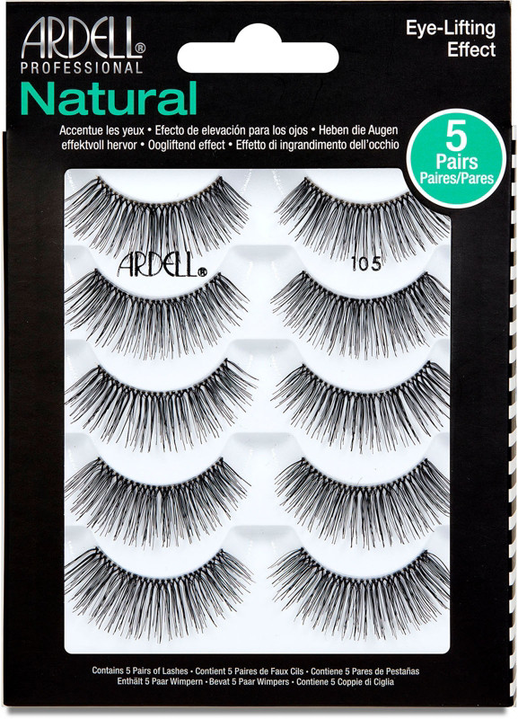 9a10f5fcc2d Ardell Lash Natural #105 5 Pair Multipack