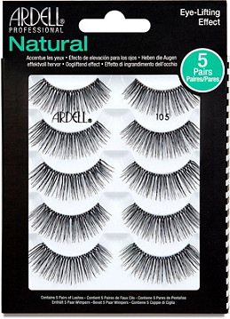 715289cb87d Ardell Lash Natural #105 5 Pair Multipack | Ulta Beauty
