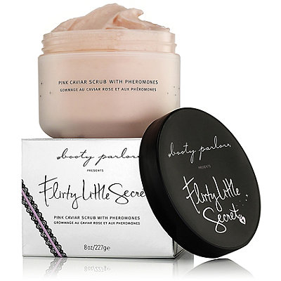 Booty Parlor Online Only Flity Little Secret Pink Caviar Scrub with Pheromones