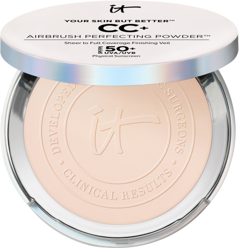 Your Skin But Better Cc+ Airbrush Perfecting Powder Spf50+ by It Cosmetics