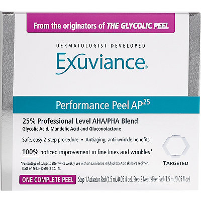 ExuvianceFREE deluxe sample Performance Peel w/any Exuviance purchase