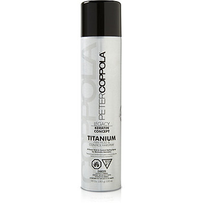 Peter Coppola Titanium Firm Hold %26 Control Hairspray