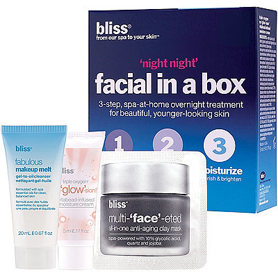 Bliss Night%2C Night Facial In A Box