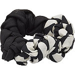 Black & White Braided Twister
