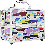 CaboodlesAdored 4 Tray Train Case