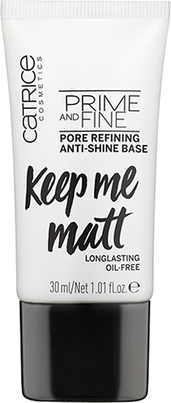 Prime & Fine Pore Refining Anti Shine Base by Catrice