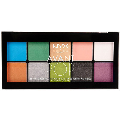 Nyx Cosmetics Avant Pop! Art Throb Shadow Palette