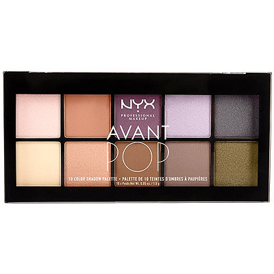 Nyx Cosmetics Avant Pop%21 Nouveau Chic Shadow Palette