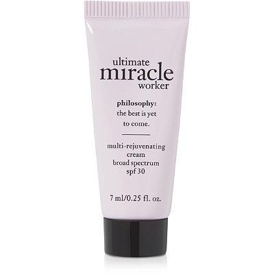 FREE Deluxe Ultimate Miracle Worker Moisturizer w/any $35 Philosophy purchase
