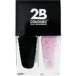 2B ColoursOnline Only Nail Polish Duo