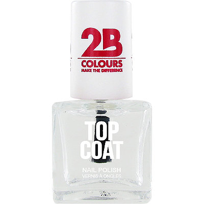 2B Colours Online Only Top Coat Nail Polish