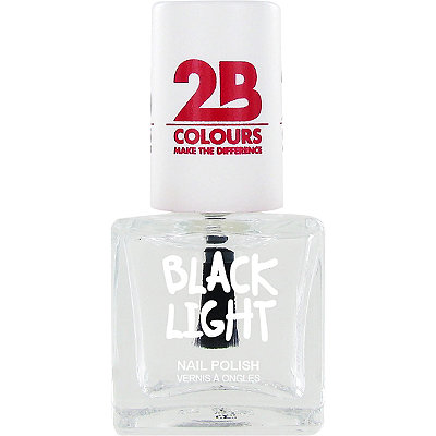 2B Colours Online Only Black Light Nail Polish