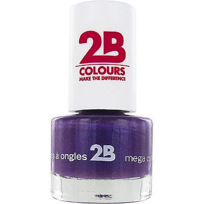 2B ColoursOnline Only Mega Colours Mini Nail Polish