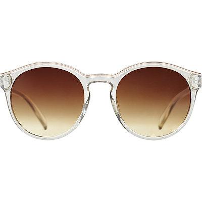 StarlightTransparent Round Sunglasses