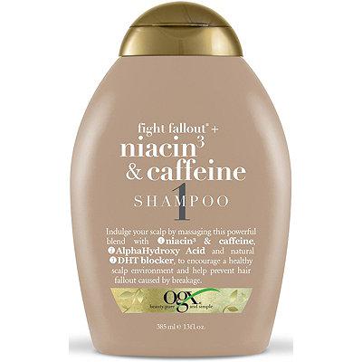 OGXFight Fallout Niacin %26 Caffeine Shampoo