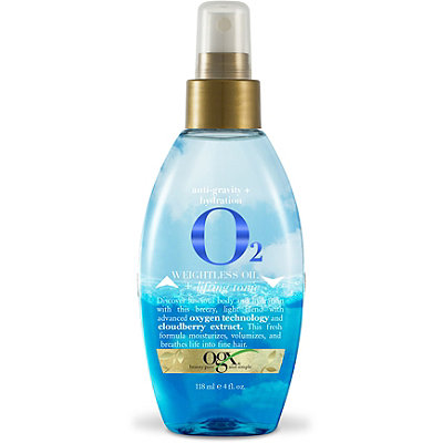 OGX Anti-Gravity %2B Hydration O2  Weightless Oil %26 Lift Tonic
