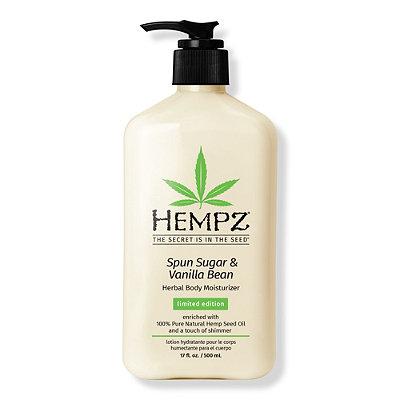 HempzLimited Edition Spun Sugar & Vanilla Bean Herbal Moisturizer