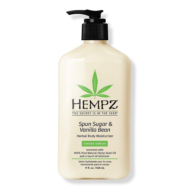 Hempz Limited Edition Spun Sugar Vanilla Bean Herbal Moisturizer Ulta Beauty