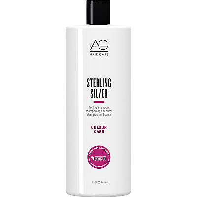 AG HairColour Care Sterling Silver Toning Shampoo