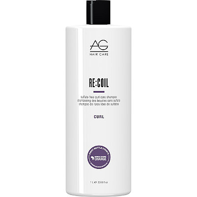 AG Hair Curl Re%3ACoil Sulfate-Free Curl Care Shampoo