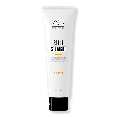 AG HairSmooth Set It Straight Argan Straightening Lotion