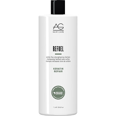 AG HairKeratin Repair Refuel Sulfate-Free Strengthening Shampoo