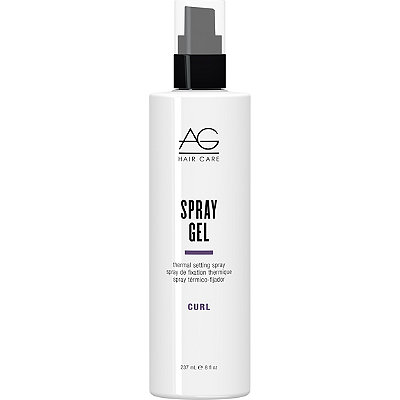 AG Hair Curl Spray Gel Thermal Setting Spray