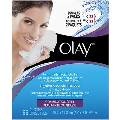 Olay 4 in 1 Daily Facial Cloths Combo%2FOily
