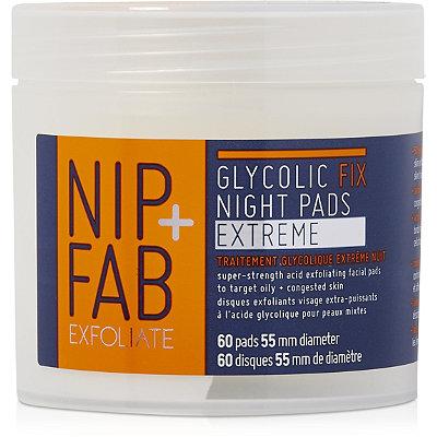 Nip + FabExfoliate Glycolic Fix Night Pads Extreme