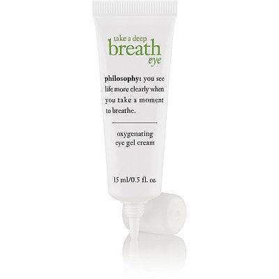 PhilosophyTake A Deep Breath Oil-Free Oxygen Infused Eye Gel Cream