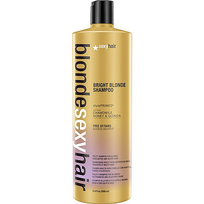 Sexy HairBlonde Sexy Hair Bright Blonde Shampoo Violet Shampoo for Blonde