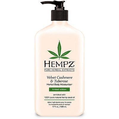 HempzVelvet Cashmere & Tuberose Herbal Body Moisturizer