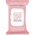 Formula 10.0.6Wipe Your Face Off Make-Up Removing Facial Wipes