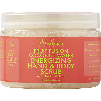 SheaMoisture Fruit Fusion Coconut Water Energizing Hand %26 Body Scrub