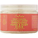 Fruit Fusion Coconut Water Energizing Hand %26 Body Scrub