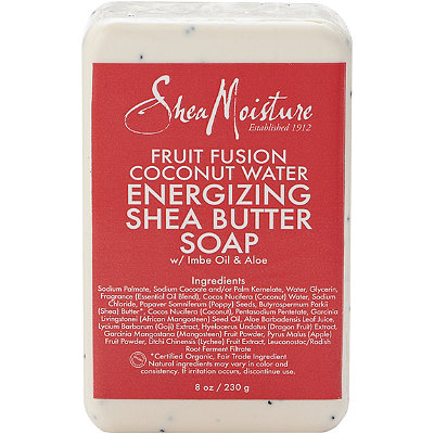 SheaMoisture Fruit Fusion Coconut Water Energizing Shea Butter Bar Soap