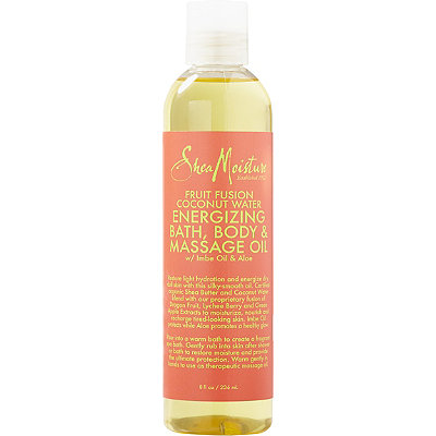 SheaMoisture Fruit Fusion Coconut Water Energizing Bath%2C Body %26 Massage Oil