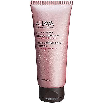 AhavaDead Sea Mineral Hand Cream Cactus %26 Pink Pepper