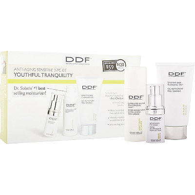 Ddf Youthful Tranquility Anti-Aging Sensitive Skin Care Kit